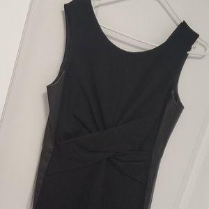 Danier leather dress - size 8